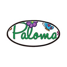 Paloma Flowers Patches