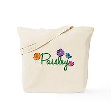 Paisley Flowers Tote Bag
