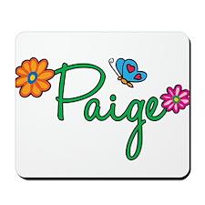 Paige Flowers Mousepad