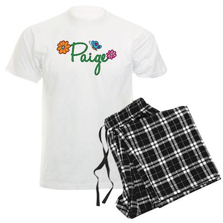 Paige Flowers Men's Light Pajamas