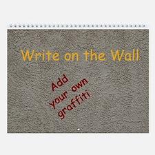 Write on the Wall - Calendar