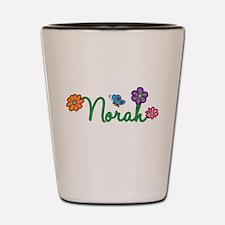 Norah Flowers Shot Glass