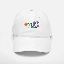 Nola Flowers Baseball Baseball Cap