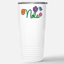 Nola Flowers Travel Mug