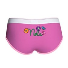Nola Flowers Women's Boy Brief