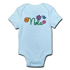 Nola Flowers Infant Bodysuit