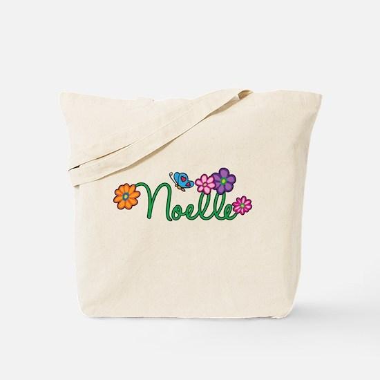 Noelle Flowers Tote Bag