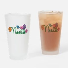 Noelle Flowers Drinking Glass