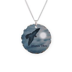Hunters Moon Necklace Charm