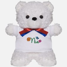 Nia Flowers Teddy Bear