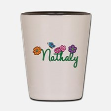 Nathaly Flowers Shot Glass
