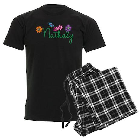 Nathaly Flowers Men's Dark Pajamas