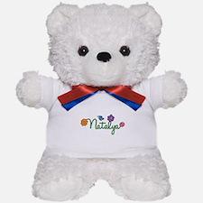 Natalya Flowers Teddy Bear