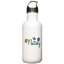 Nataly Flowers Water Bottle
