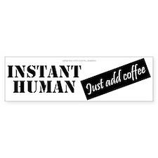 Instant Human Car Sticker