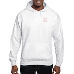Hemoglobin Molecule Hooded Sweatshirt