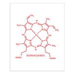Hemoglobin Molecule Small Poster