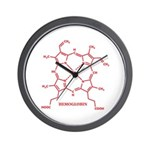 Hemoglobin Molecule Wall Clock