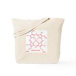 Hemoglobin Molecule Tote Bag