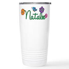 Natalee Flowers Travel Mug