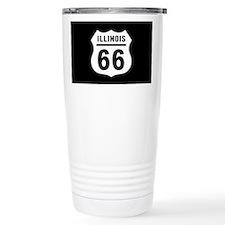 Route 66 Illinois Travel Mug