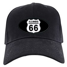 Route 66 Illinois Baseball Hat