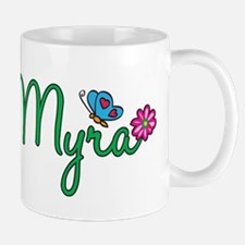 Myra Flowers Small Small Mug