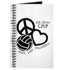 Peace Love Vball Journal