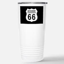 Route 66 Missouri Stainless Steel Travel Mug