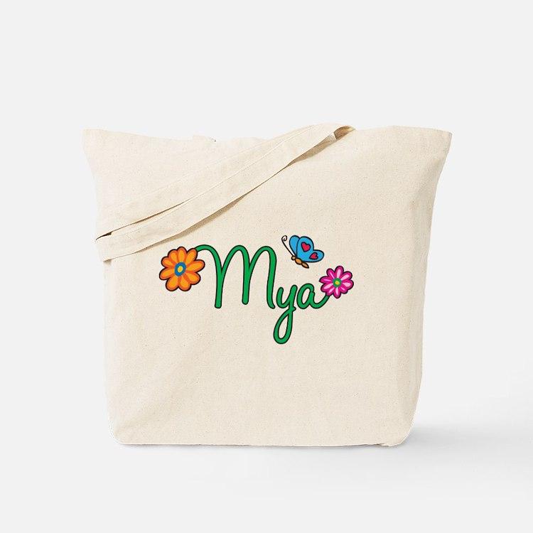 Mya Flowers Tote Bag