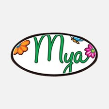 Mya Flowers Patches
