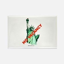 No Vacancy (for immigrants) - Rectangle Magnet
