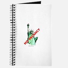 No Vacancy (for immigrants) - Journal