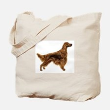 Cute Irish setter Tote Bag