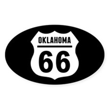 Route 66 Oklahoma Decal