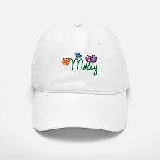 Molly Flowers Baseball Baseball Cap