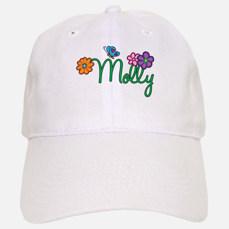 Molly Flowers Baseball Baseball Cap