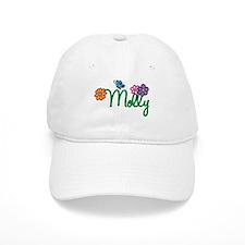 Molly Flowers Baseball Cap