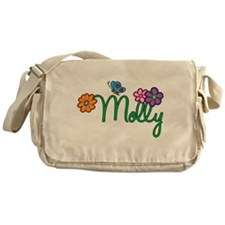 Molly Flowers Messenger Bag