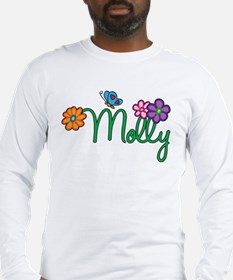 Molly Flowers Long Sleeve T-Shirt