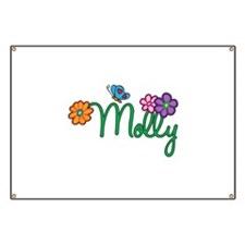 Molly Flowers Banner