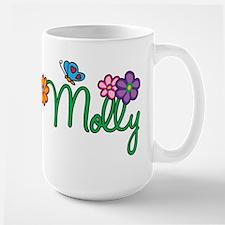 Molly Flowers Large Mug