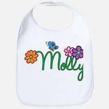 Molly Flowers Bib