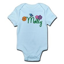 Molly Flowers Infant Bodysuit