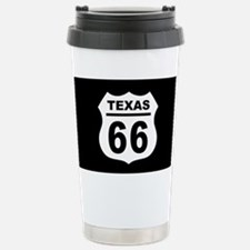 Route 66 Texas Stainless Steel Travel Mug