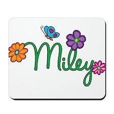 Miley Flowers Mousepad