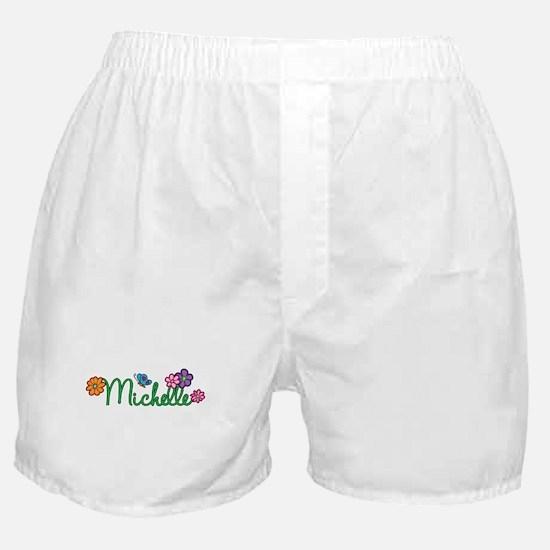 Michelle Flowers Boxer Shorts