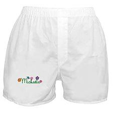 Michaela Flowers Boxer Shorts