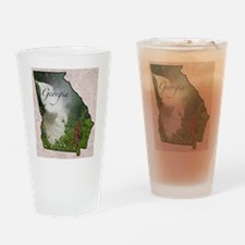 Cute Georgia Drinking Glass