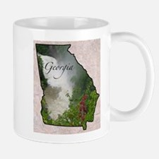 Unique State georgia Mug